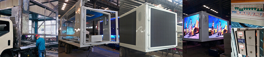 Nomadic LED Truck Sales Building Phases