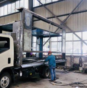 Nomadic LED Trucks Building Phase 1