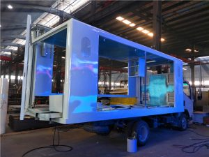 Nomadic LED Trucks Building Phase 2