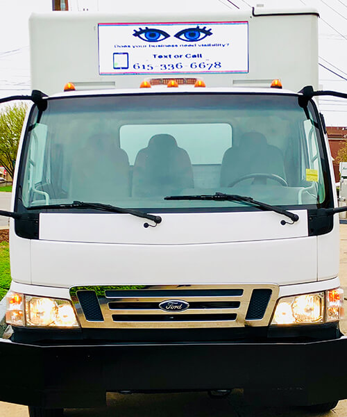 Nomadic LED Truck Sales Mobile Bill Boards